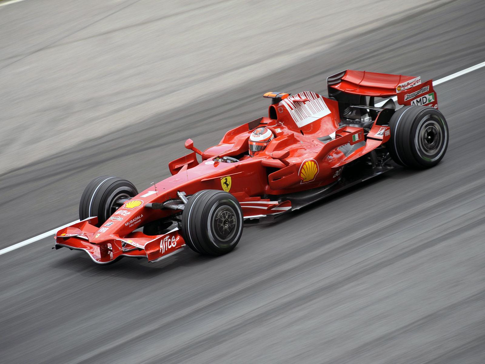 フェラーリf2008 【f1】キミ・ライコネン 2008年 フェラーリf2008【kimi Raikkonen